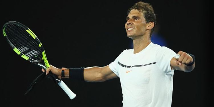 Tennis player Rafael Nadal