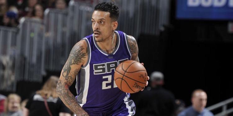 Sacramento Kings player in action