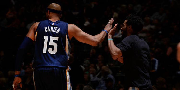 Memphis Grizzlies player Vince Carter