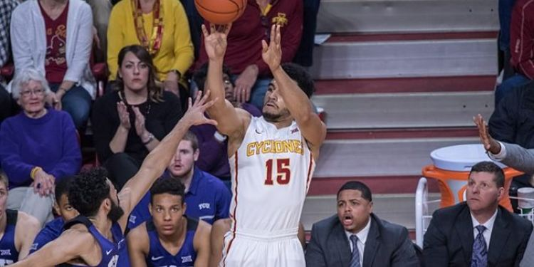 Iowa State Cyclones player in action