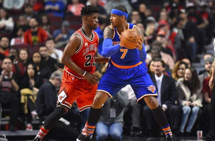 jimmy butler carmelo anthony
