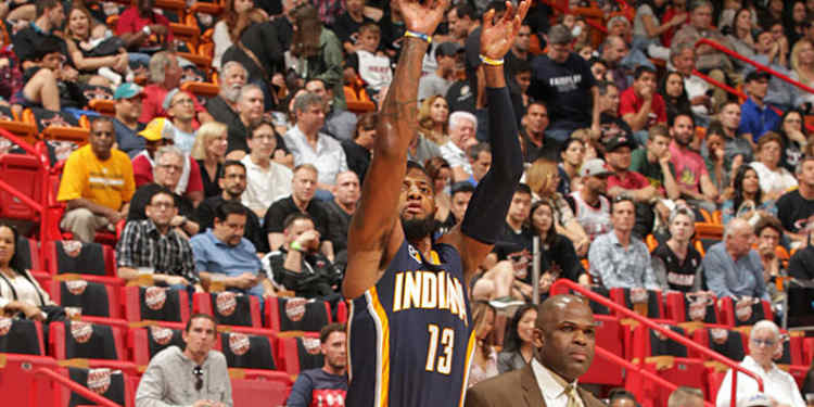 Indiana Pacers player in action