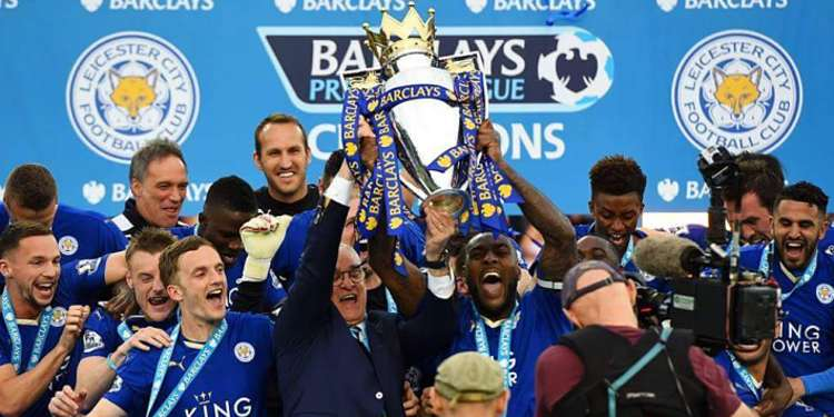 Leicester City F.C. 2016 champions