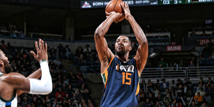 Utah Jazz player in action