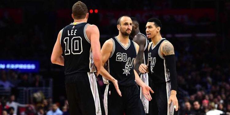 San Antonio Spurs players