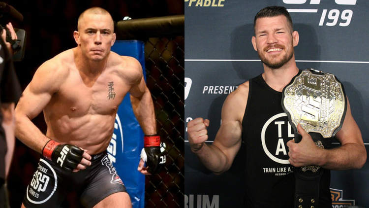 georges st-pierre michael bisping