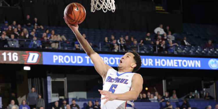 DePaul Blue Demons player