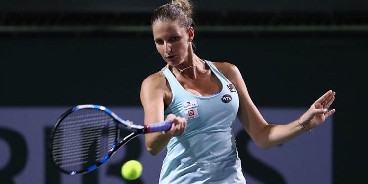 Karolina Pliskova tennis platyer