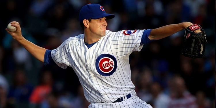 Cubs pitcher Kyle Hendricks