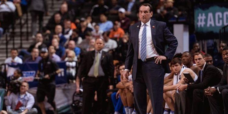 Coach K from Duke