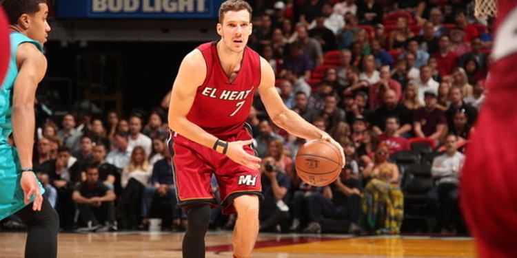 Miami Heat player in action