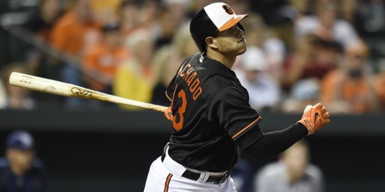 Manny Machado of the Orioles