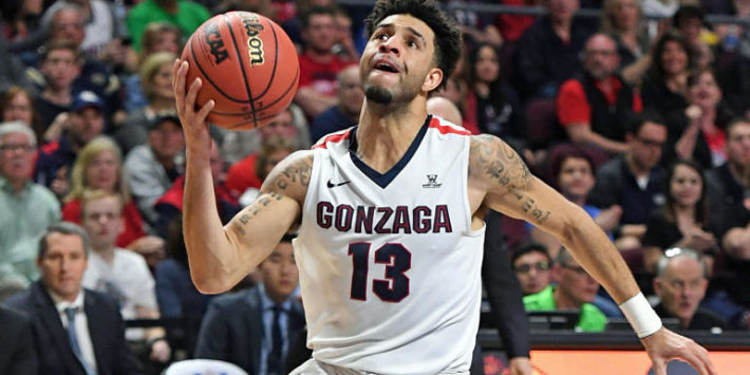 Gonzaga Bulldogs player in action