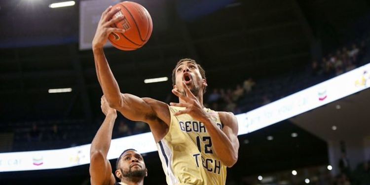 Georgia Tech Yellow Jackets player in action