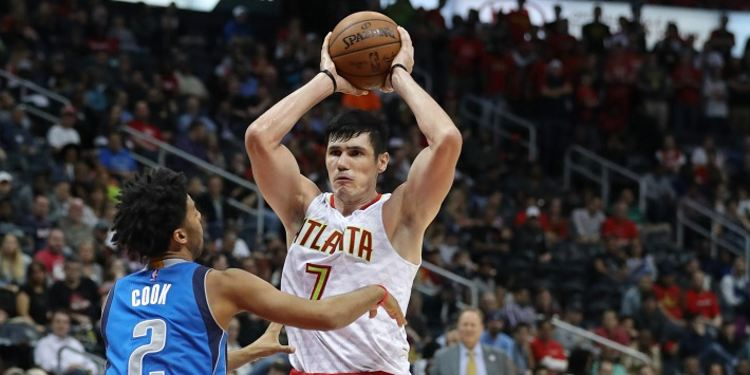 Ersan Ilyasova of the Hawks