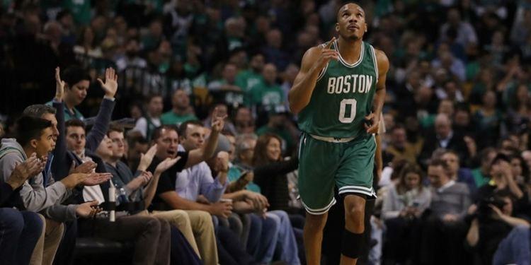 Avery Bradley of the Celtics