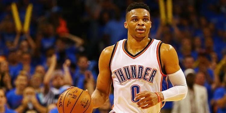 Russell Westbrook of the Thunder