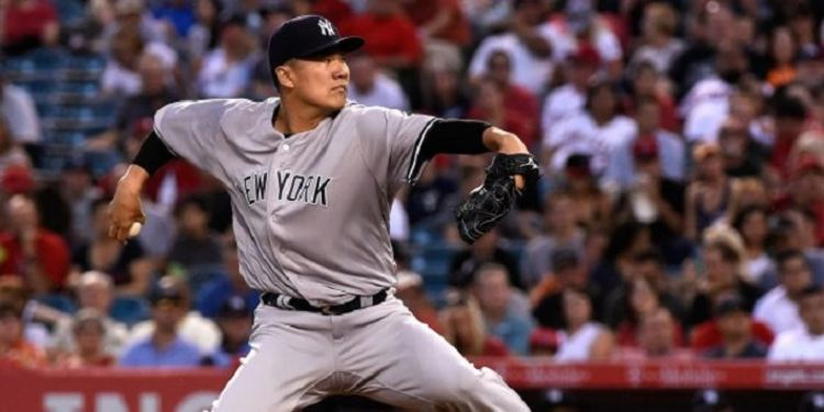 Tanaka of the Yankees
