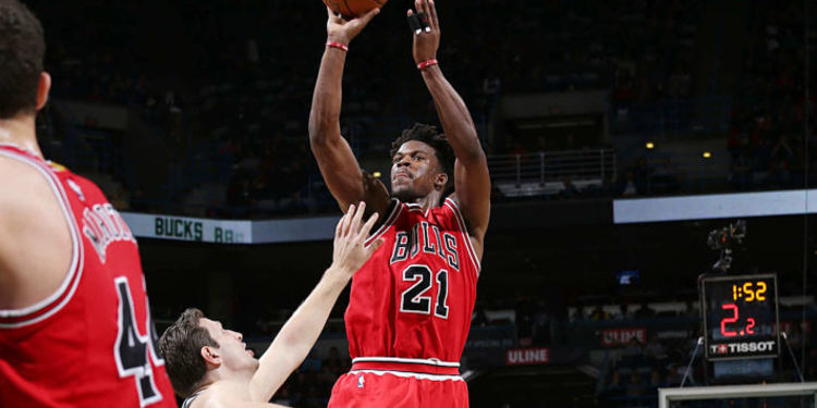 Chicago Bulls player in action