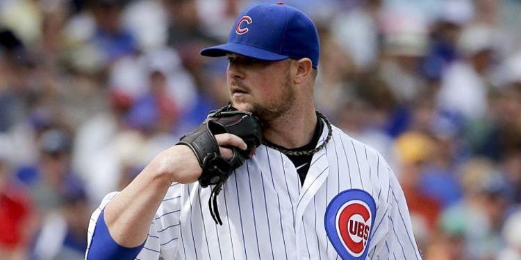 Chicago Cubs pitcher Jon Lester