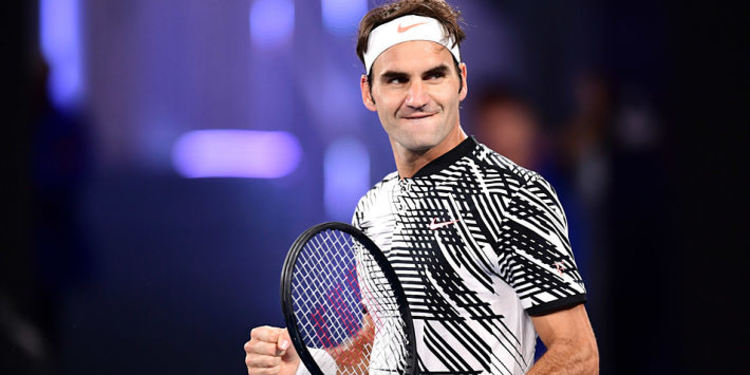 Tennis player Roger Federer