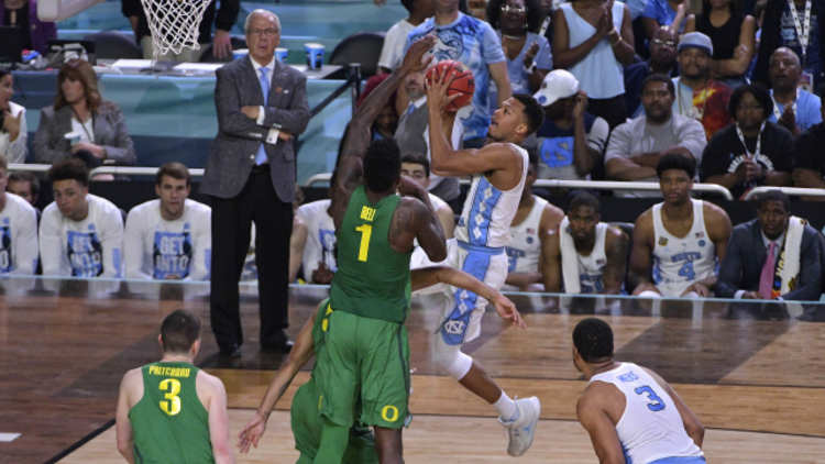 North Carolina vs Oregon Final Four Game