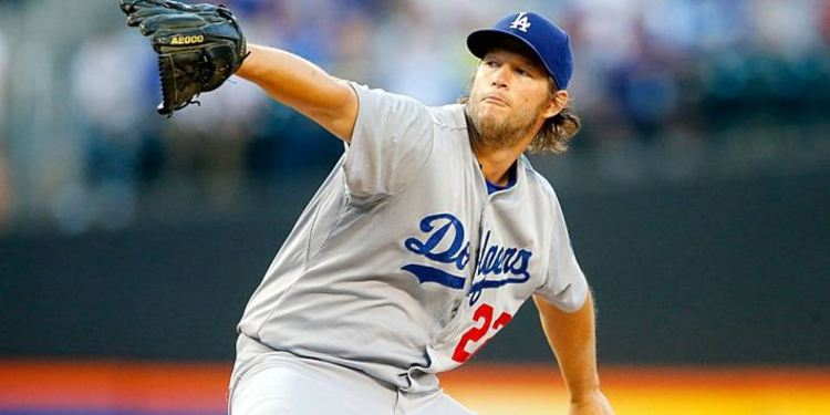 Dodger's pitcher Clayton Kershaw