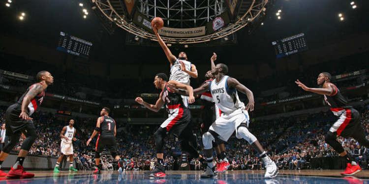 Minnesota Timberwolves vs Portland Trail Blazers  game