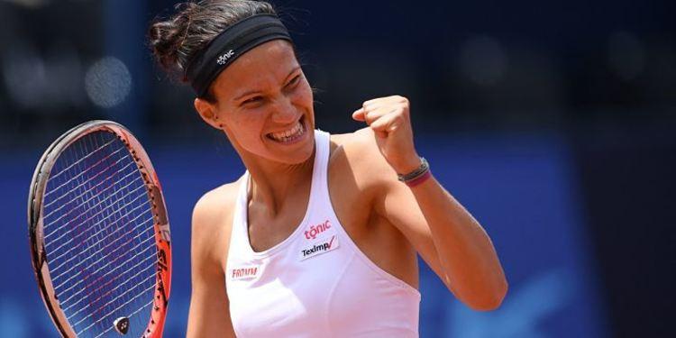 Tennis player Viktorija Golubic