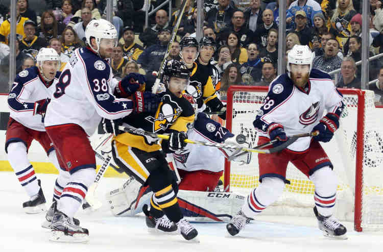 blue jackets penguins