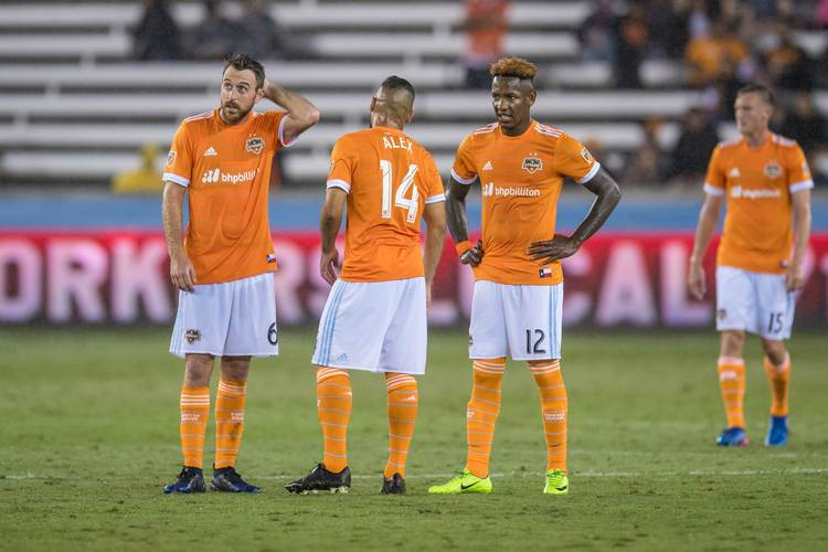 Houston Dynamo players