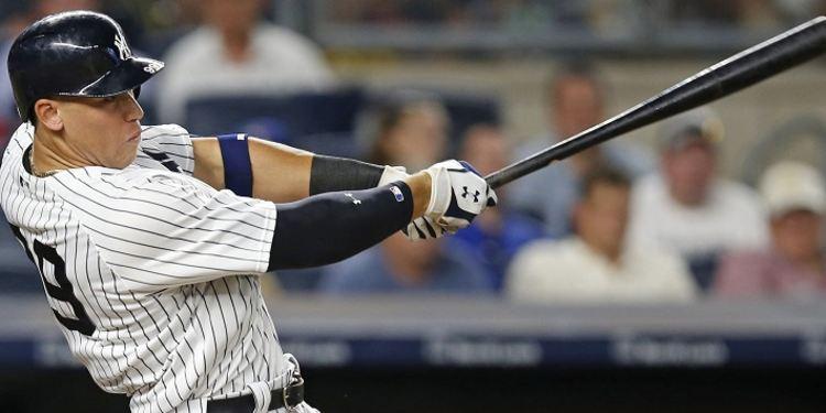 Aaron Judge of the Yankees