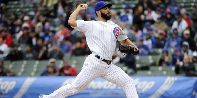Cubs pitcher Jake Arrieta