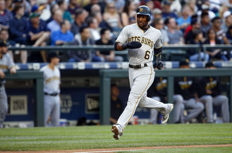 Pittsburgh Pirates player Starling Marte