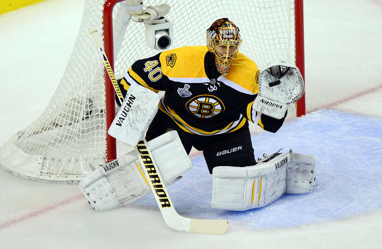 Bruins Keeper Tuukka Rask