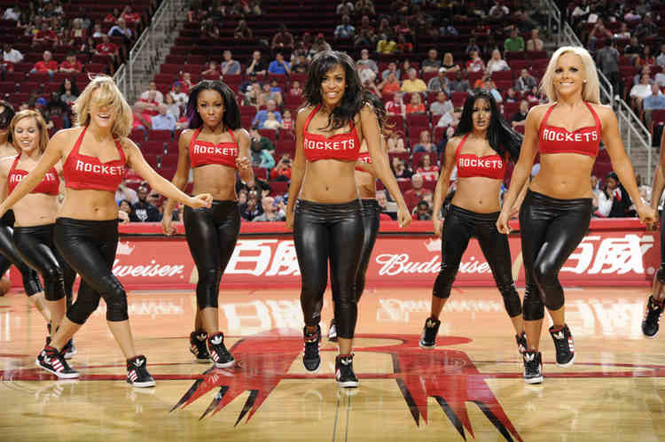 Houston Rockets cheerleaders
