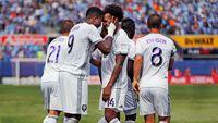 Orlando City SC players celebrating