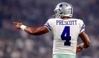 Dallas Cowboys player Dak Prescott