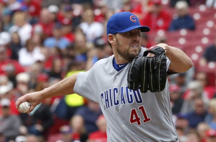 Cubs pitcher John Lackey