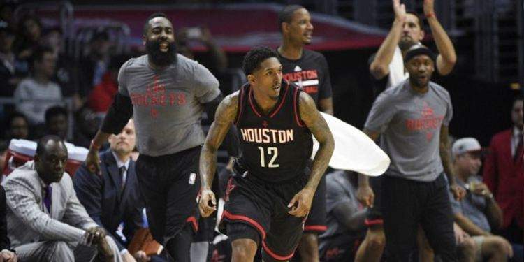 Lou Williams of the Rockets