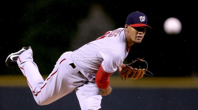 Nationals pitcher Joe Ross in action
