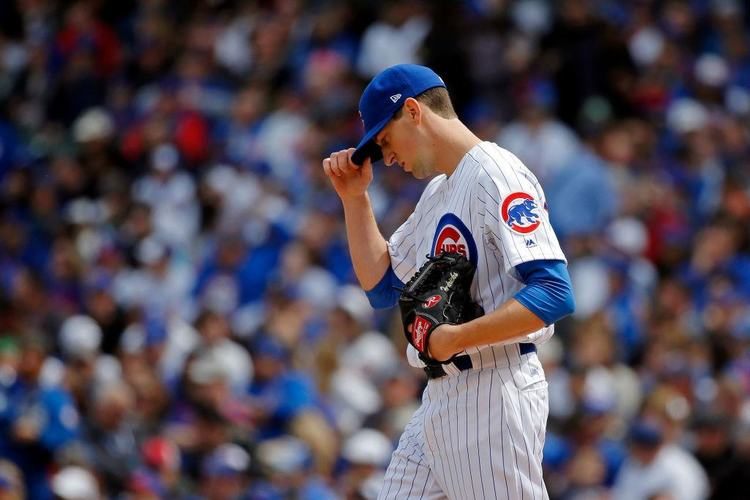 Cubs pitcher Kyle Hendricks