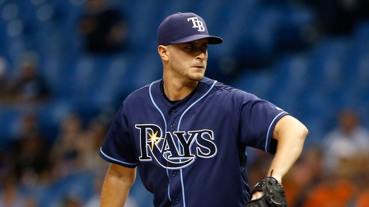Rays pitcher Jake Odorizzi