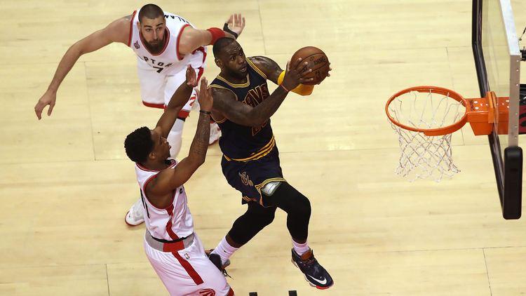 Toronto Raptors vs Cleveland Cavaliers  Game 1