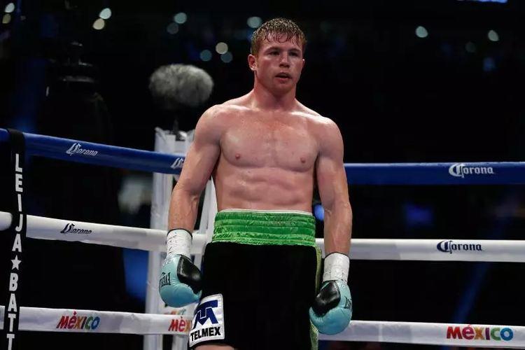 Boxing profesional Canelo Álvarez