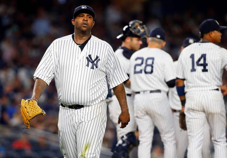 Yankees pitcher CC Sabathia