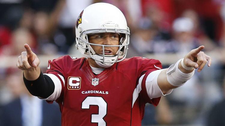Cardinals player Carson Palmer