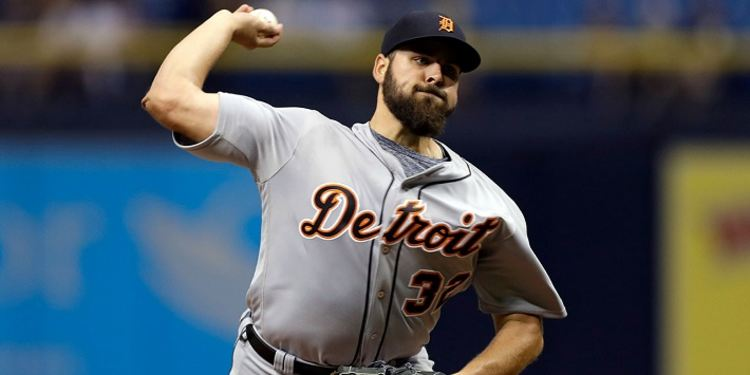 Michael Fulmer of the Tigers