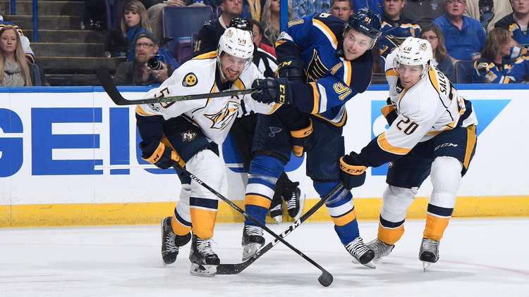 St. Louis Blues vs Nashville Predators