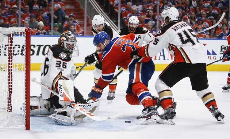 Anaheim Ducks Oilers